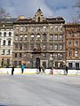 Ice rink, Hunyadi Square, 2016 Terezvaros.jpg