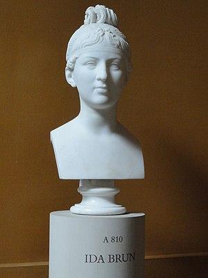 Ida Brun - Sculpture of Ida Brun, by Bertel Thorvaldsen