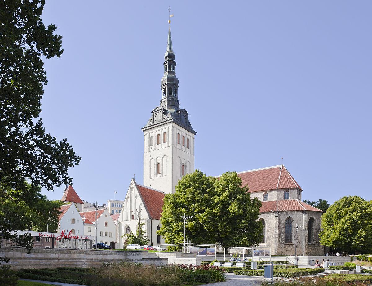 St. Nicholas Church, Tallinn - Wikipedia
