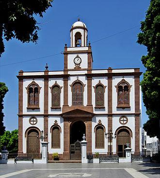 Agaete - Image: Iglesia de la Concepción Agaete 2010 2010 11 09