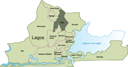 Location in Lagos Metropolitan Area