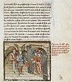 Illustrazione del 1420 di Antoine de La Sale, raffigurante l'ingresso del regno della Sibilla.jpg