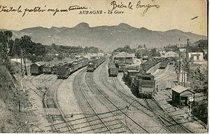 Aubagne - Aubagne Station before 1916