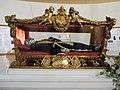 Imperia Porto Maurizio, basilique Saint-Maurice. Reliques de saint Léonard confesseur.jpg
