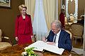 Ināra Mūrniece tiekas ar Igaunijas un Lietuvas parlamentu priekšsēdētājiem (15607852294).jpg