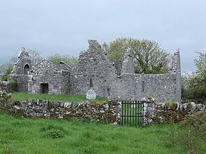 Crusheen (Inchicronan) - Remains of Inchicronan Priory