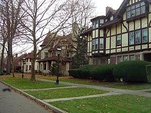 Indian Village, Detroit - Homes on Iroquois Street
