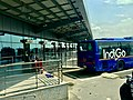 Indigo bus shuttle services in first terminal of Delhi airport 2.jpg