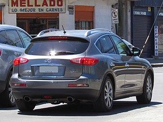 Infiniti QX50 - Pre-facelift rear