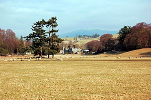 Sedbergh - Ingmire Hall, from the south