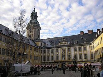 House of Schwarzburg - The castle Heidecksburg at Rudolstadt