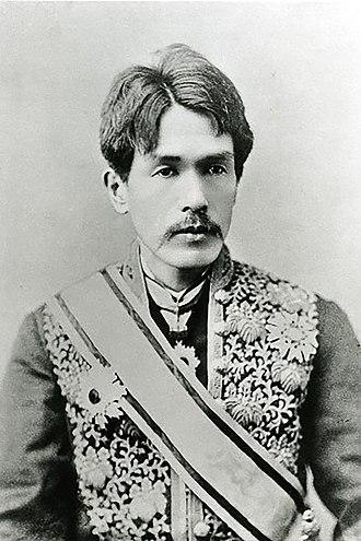 Inoue Kowashi - A photograph of Inoue Kowashi from the Kokugakuin University Archives