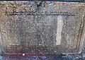 Inscripció al pou de la fortalesa vella de Corfú.JPG