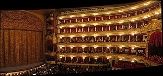 Alberto Cavos - Image: Inside Moscow Bolshoi Theatre