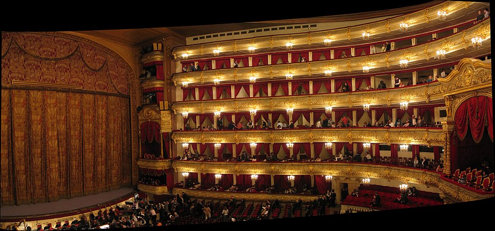 Inside Moscow Bolshoi Theatre