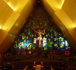 Jeløya - Image: Interiør i Jeløy kirke