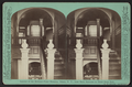 Interior of the McGraw-Fiske Mansion, Ithaca, N.Y., from back staircase to third story hall. (W. H. Miller, architect), by Eagles, J. D., 1837-1907.png