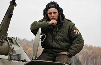 Internal Troops of Russia - A VV MVD RF serviceman in 2012