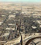 International Avenue, Calgary-aerial