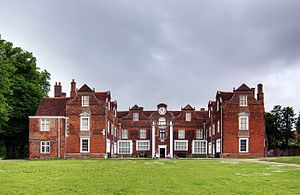 Christchurch Mansion - Christchurch Mansion from the front