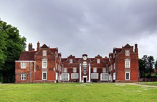 Christchurch Mansion historic house museum in Ipswich, England