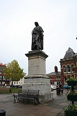 Statue Of Sir Isaac Newton (Outside Town Hall)