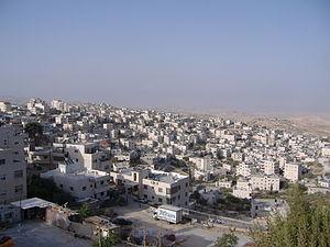 Isawiya - Al-Issawiya viewed from Mt. Scopus
