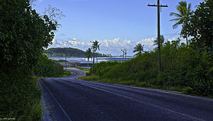 Culture of Nauru - Island ring road in Nauru