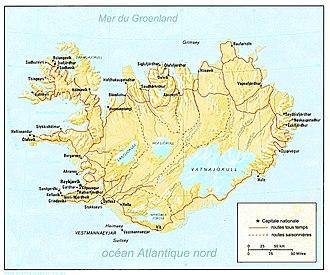 Conduite en islande gauche ou droite