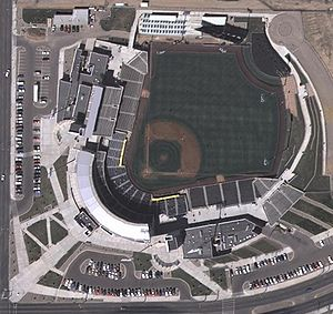Isotopes Park - Image: Isotopes Park New Mexico