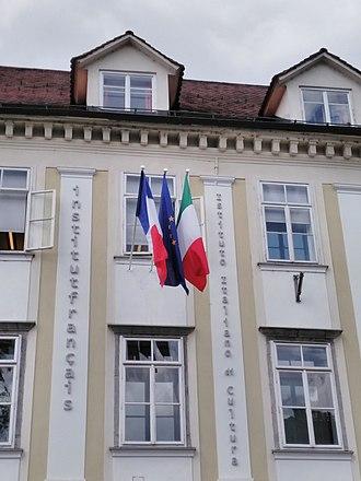 Istituto Italiano di Cultura - Istituto Italiano di Cultura and Institut Français in Ljubljana, Slovenia.