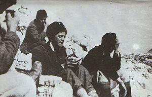 Ivan Goran Kovačić - Ivan Goran Kovačić in partisans.