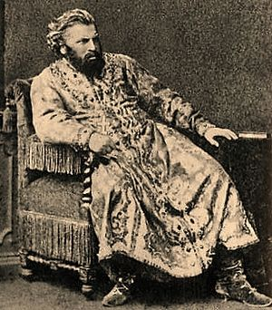 Ivan Melnikov (baritone) - Melnikov as Tsar Boris in Boris Godunov (1874)
