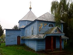 Ivanychi Volynska-Forty Martyrs of Sebaste church-front view.jpg