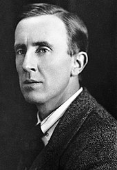 Photo of Tolkien as a middle-aged man