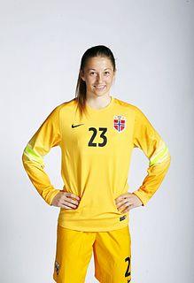 Cecilie Fiskerstrand Norwegian footballer