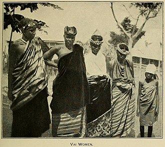 Vai people - Group of Vai women, 1907