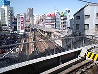 JR Gotanda Station1.JPG