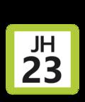 JR JH-23 station number.png