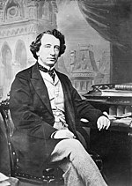 Sir John A. MacDonald, the first Prime Minister of Canada, leader of the Liberal-Conservative Party, one of the party's predecessors.
