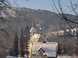 Jablonec nad Jizerou - Church of St. Procopius