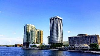 Southbank (Jacksonville) - Image: Jacksonville Southbank