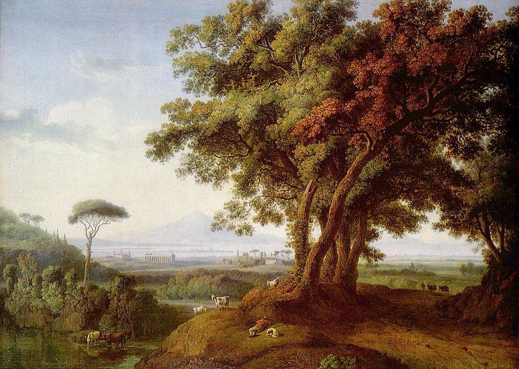 W Richter Oil Painting