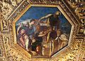 Jacopo tintoretto, il doge girolamo priuli riceve dalla giustizia la bilancia e la spada, 165-67, 01.JPG