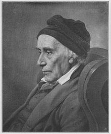 David Friedländer gemalt von Julius Hübner 1834 (Quelle: Wikimedia)