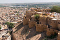 Jaisalmer Fort Palace Museum-6-Barbicane walls-20131010.jpg