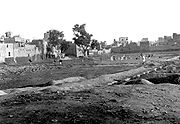 The Jallianwalla Bagh in 1919, months after the massacre.