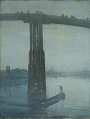 Nocturne: Blue and Gold - Old Battersea Bridge (1872)