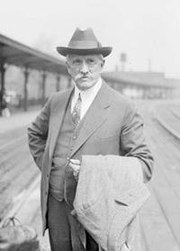 James Breasted in Chicago, 1928.