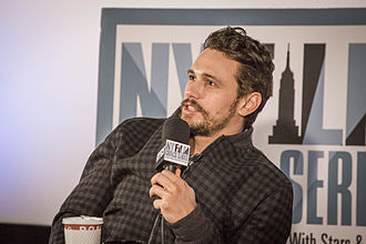 James Franco - Franco at the New York Film Critics Series première of Child of God.